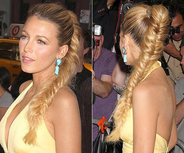 Treccia hair style