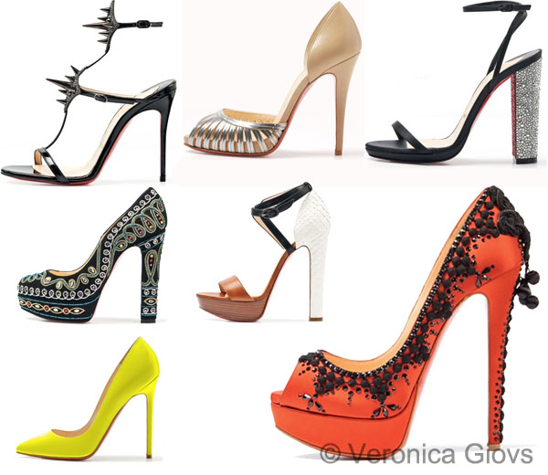 Christian Louboutin primavera estate 2012 Shoes Collection ...