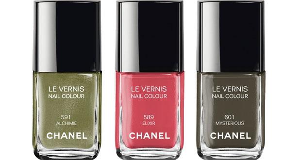 Chanel collezione smalti autunno inverno 2013