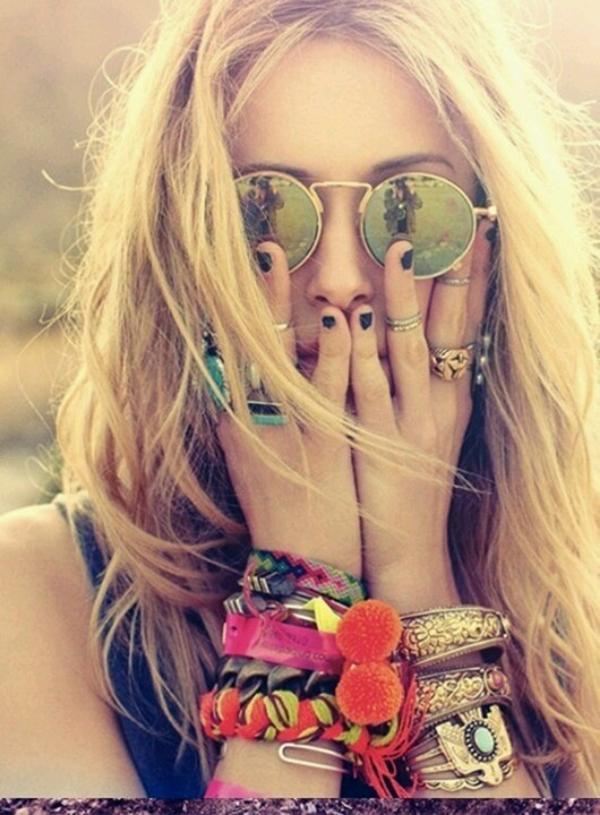 Bracciale fai da te hippy