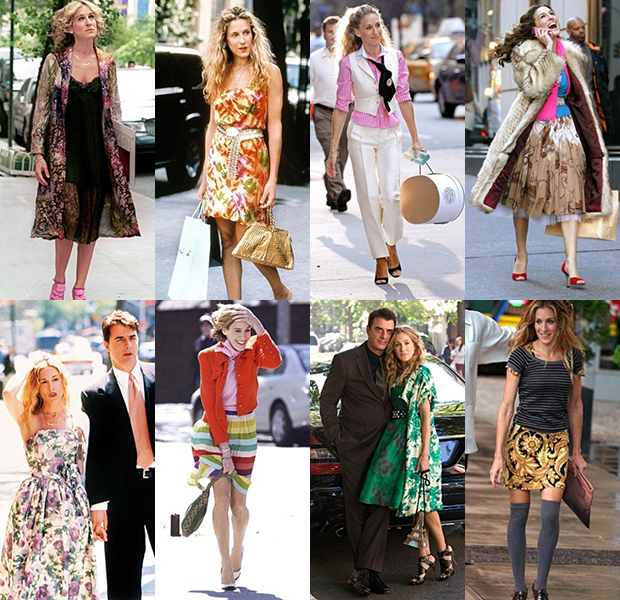 Sarah Jessica Parker style in Sex and the City