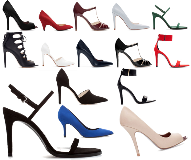 Zara collezione scarpe sandali invernali