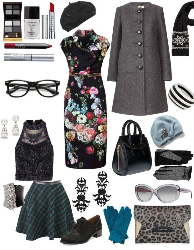 Come vestirsi alla moda con colori scuri