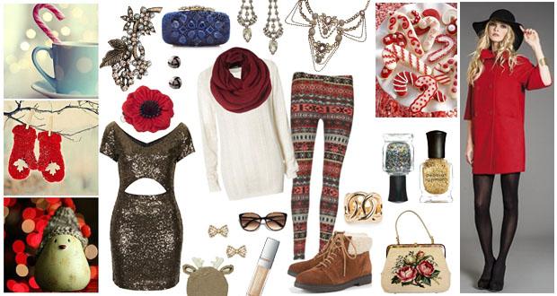 Come vestirsi alla moda durante le feste di Natale
