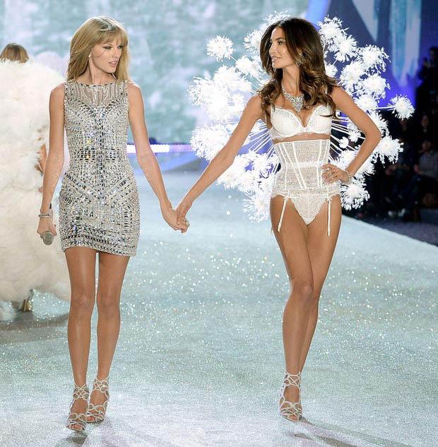 Taylor swift al victoria 39 s secret fashion show 2013 Taylor swift style live vs fashion show