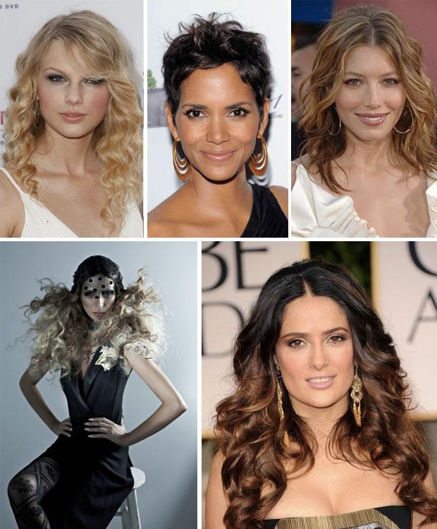 Tagli di capelli ricci 2014