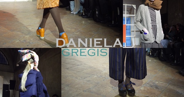 MFW : Daniela Gregis Collezione Autunno Inverno 2014/2015