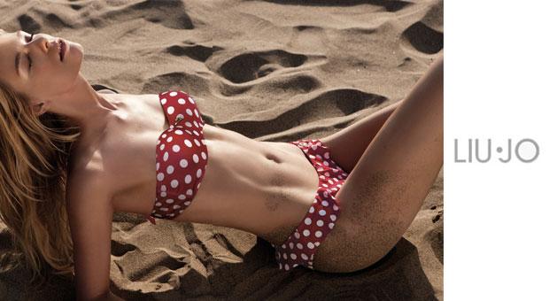Costumi Da Bagno Bianchi 2014 : Liu jo costumi da bagno bikini con fantasie floreali e navy