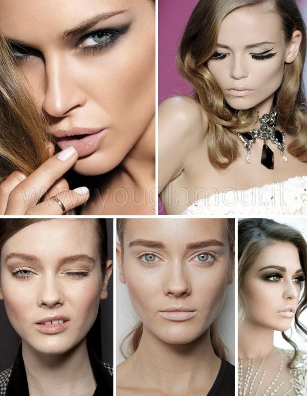 Make-up-con-Rossetto-nude-