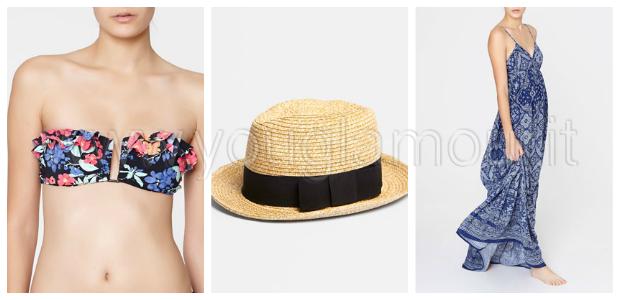 OYSHO collezione costumi da bagno estate 2014