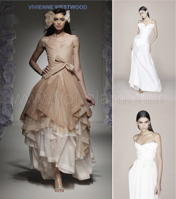 Vestiti Da Sposa Vivienne Westwood.Vivienne Westwood Collezione Abiti Da Sposa 2014