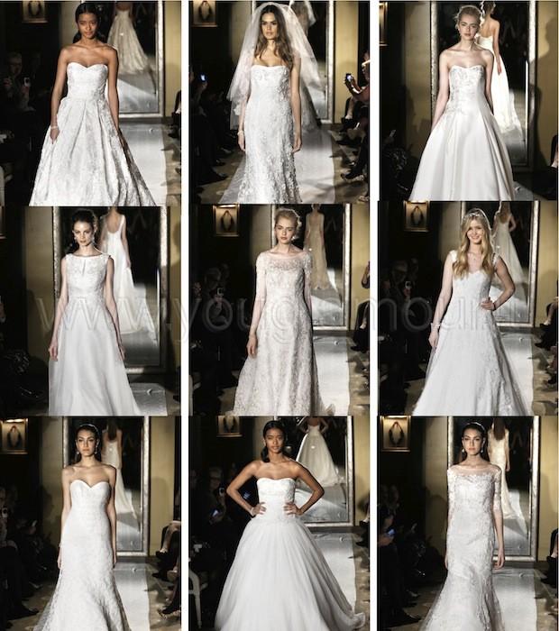 Oleg Cassini collezione abiti da sposa 2015