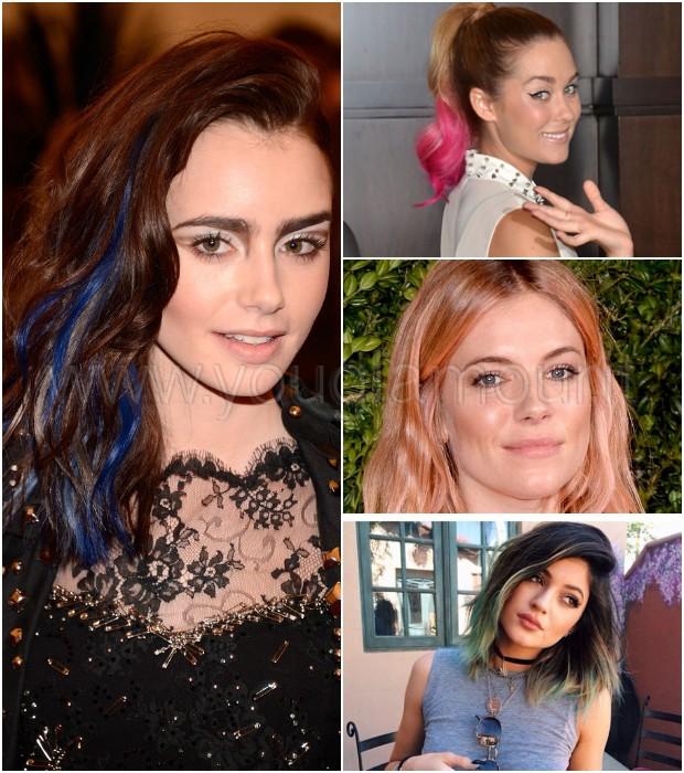 Le tinte per capelli più cool sfoggiate dalle star!