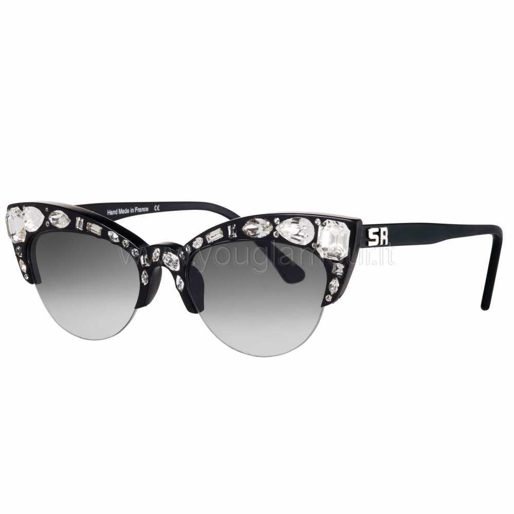occhiali da sole con strass