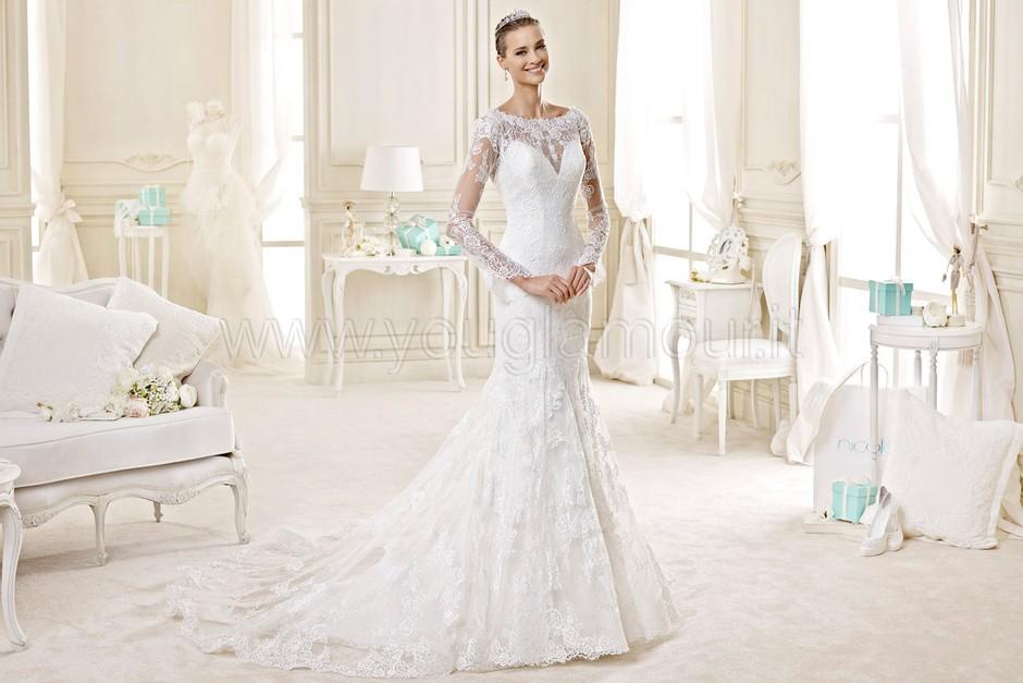 Nicole collezione di abiti da sposa 2015 6