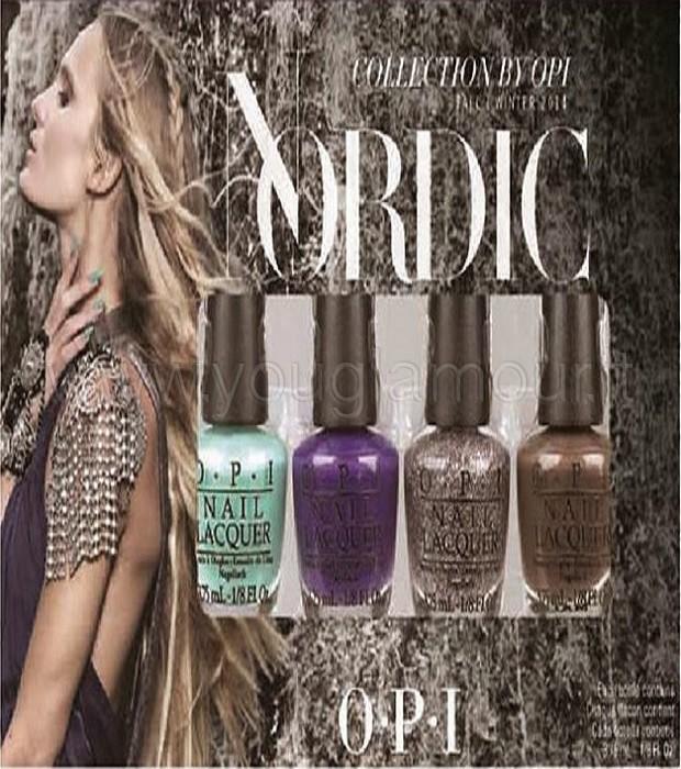 OPI collezione Nordic
