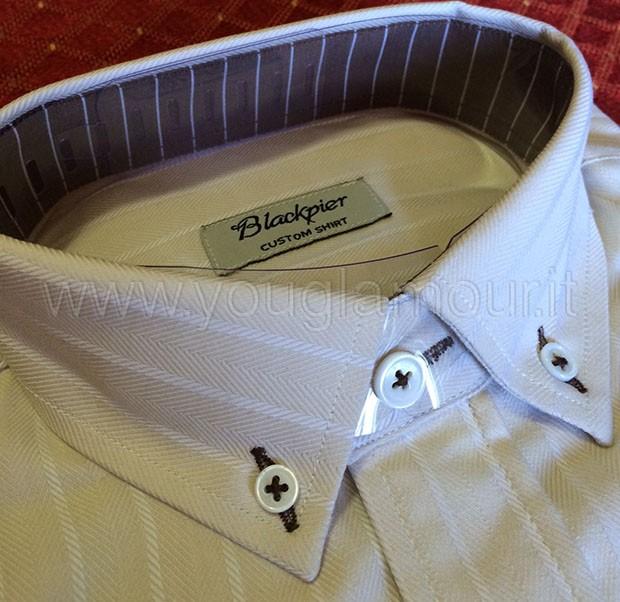 camicia su misura blackpier