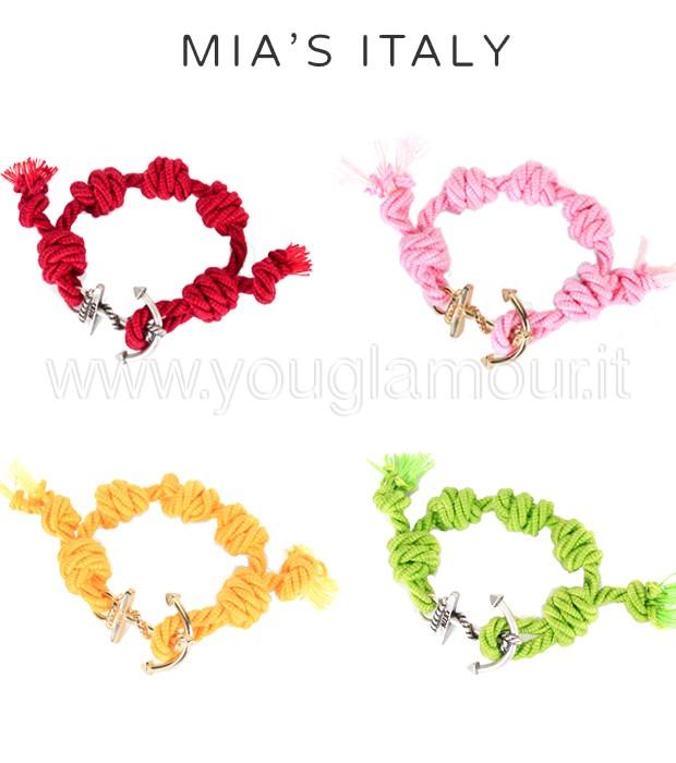 Bracciali Mia's Italy per l'estate 2014