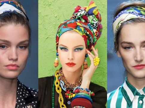 Tendenza foulard e bandane