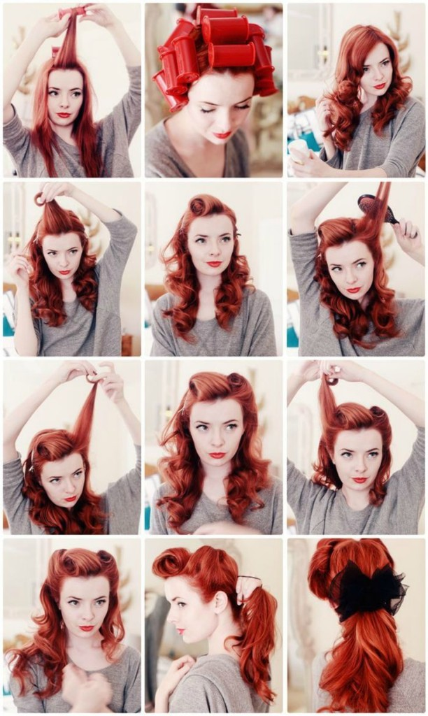 TUTORIAL CAPELLI: Rockabilly hair style