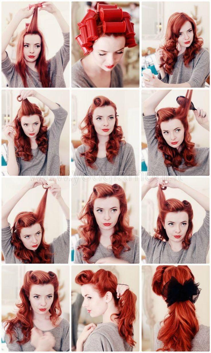size 40 3ffc6 9dc77 TUTORIAL CAPELLI: Rockabilly hair style