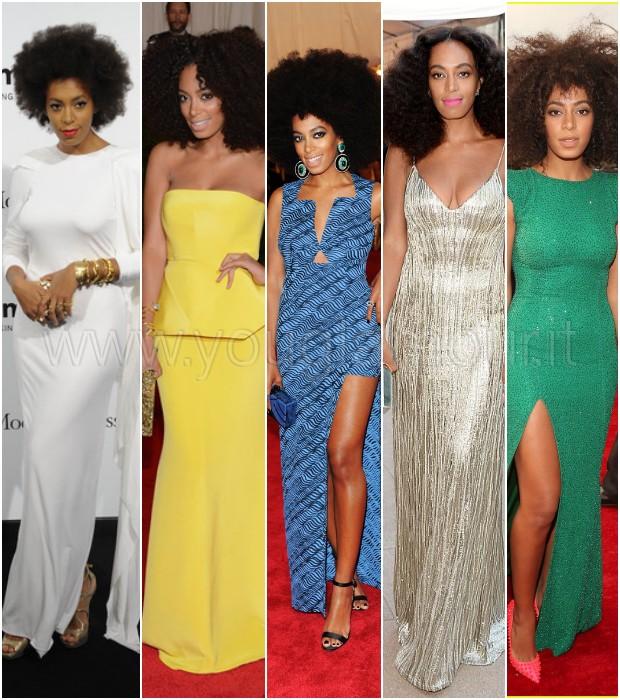 Lo stile etnico e afro di Solange Knowles