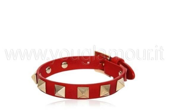 valentino-bracciale-rosso-rockstud
