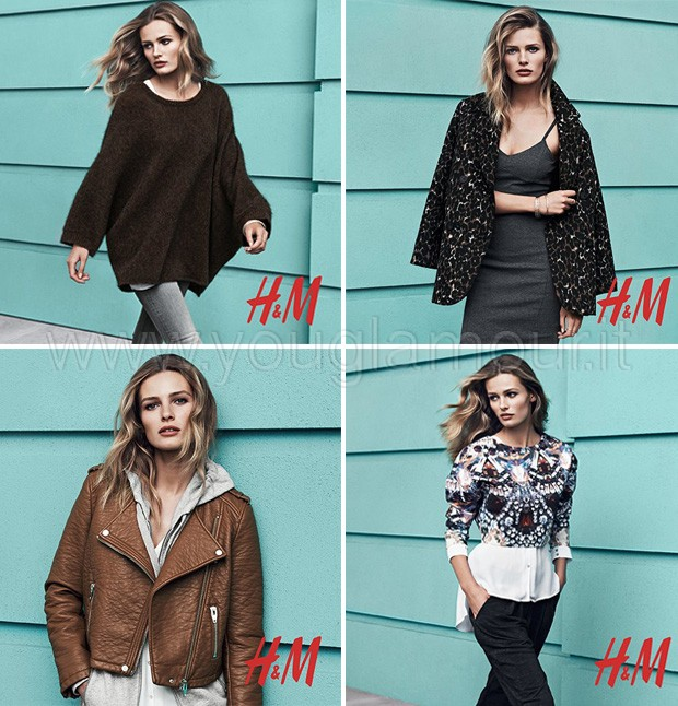 H&M collezione autunno inverno 2014 foto catalogo