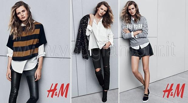 H&M collezione autunno inverno 2014 foto