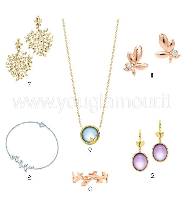 Gioielli Tiffany&Co collezione Olive Leaf