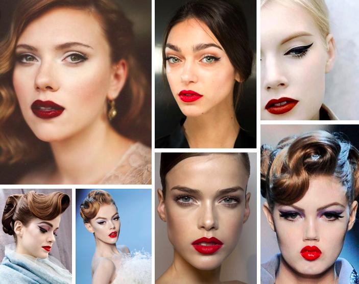 Trucco anni 50 makeup vintage