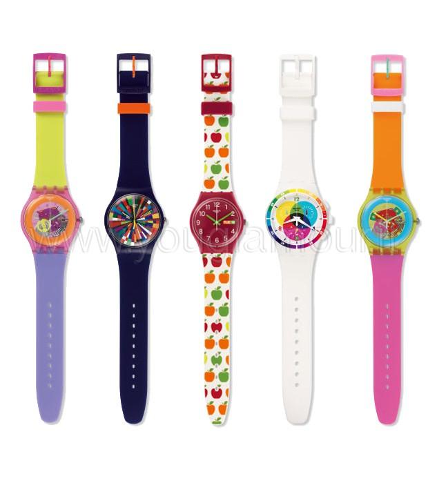 Orologi Swatch collezione A world in colors