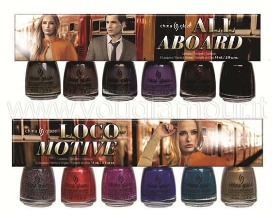 China Glaze All Aboard Collection sets