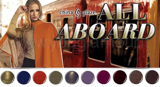 China Glaze All Aboard Collection- un viaggio nel colore!