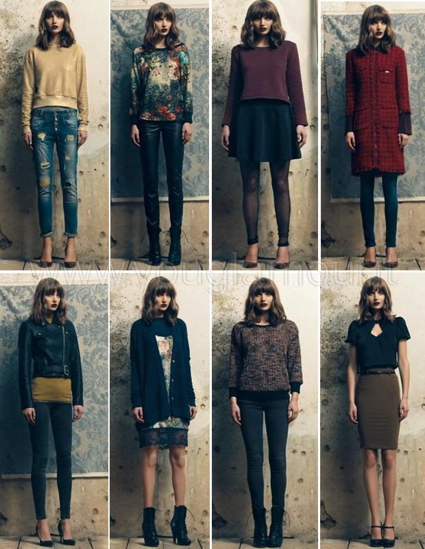 Fornarina collezione autunno inverno 2014 2015 look da sera