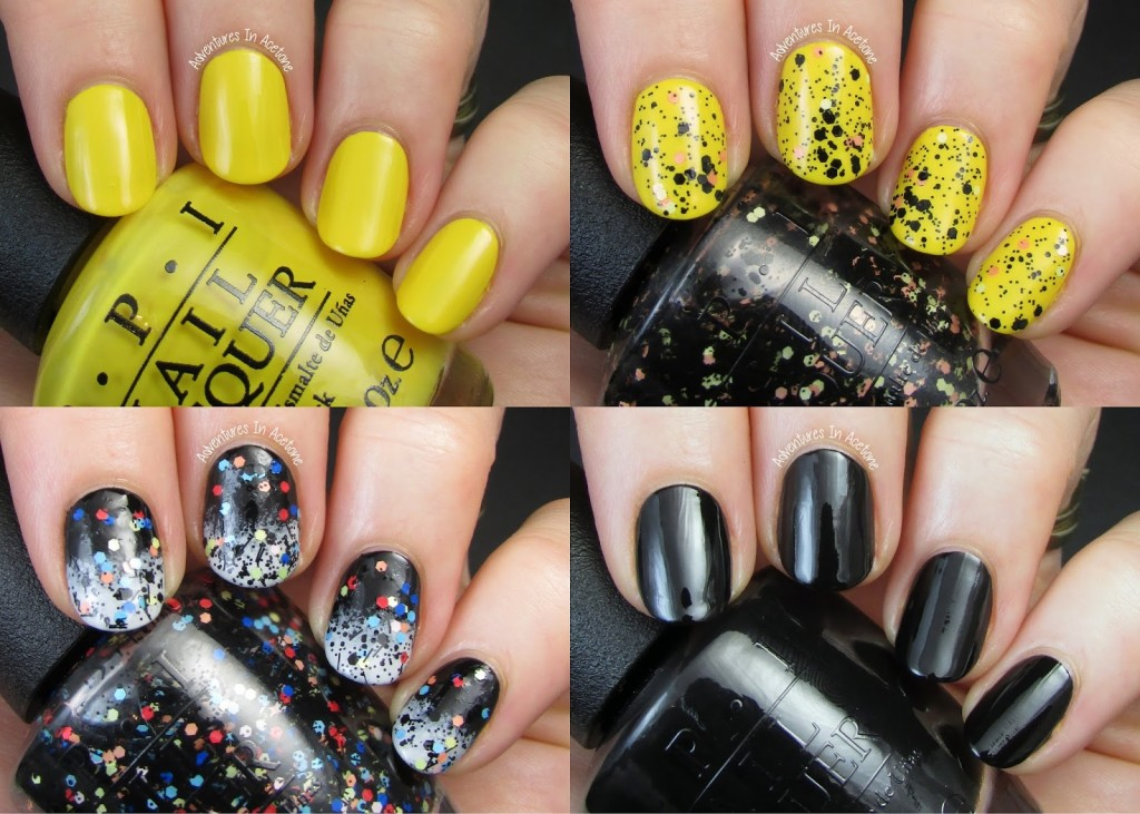Smalti Halloween 2014 OPI Peanuts Collage