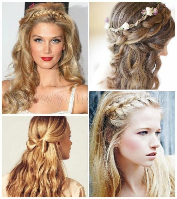 Acconciature autunno 2014 per capelli lunghi