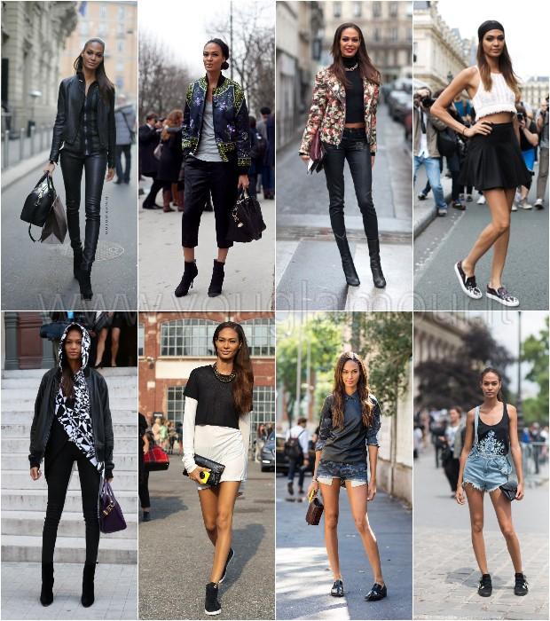 Joan Smalls: lo street style della modella