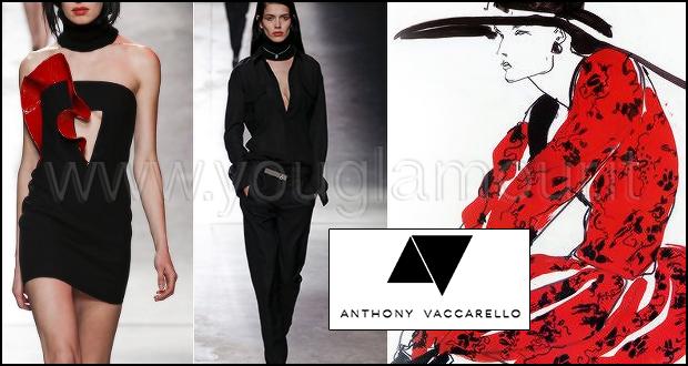 Anthony Vaccarello collezione autunno inverno 2014 2015