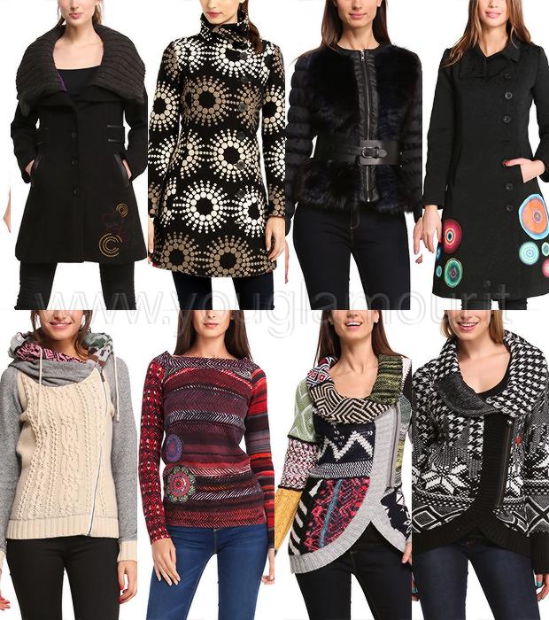 Desigual collezione autunno inverno 2014-2015