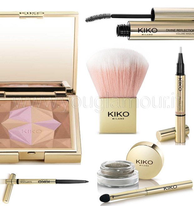 Kiko Luxurious collezione make-up inverno 2014 anteprima