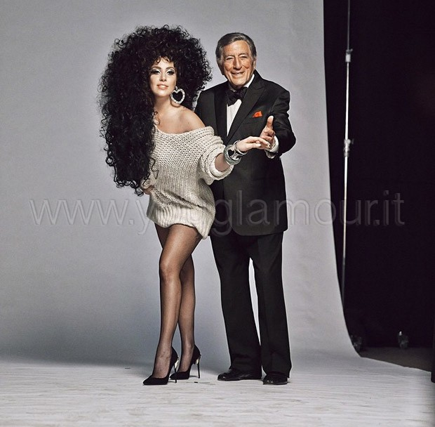 Lady Gaga e Tony Bennett per H&M Natale 2014
