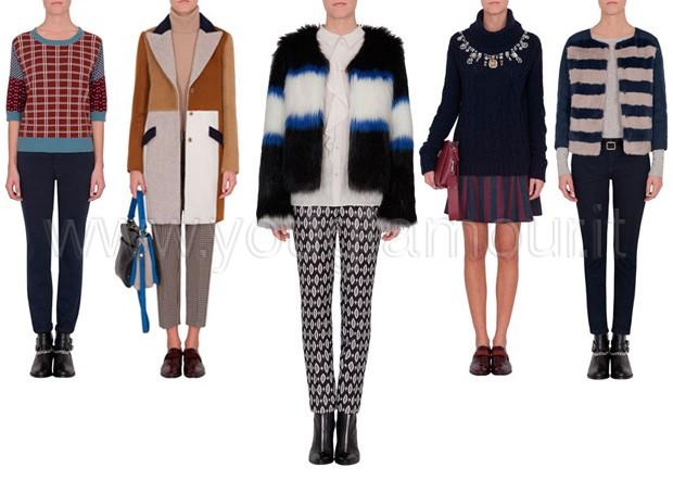 Max&Co collezione moda autunno inverno 2014 2015 llok da giorno