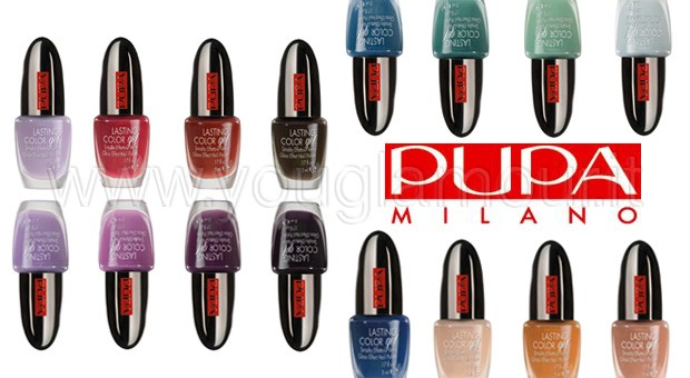Pupa Lasting Color Gel 2014