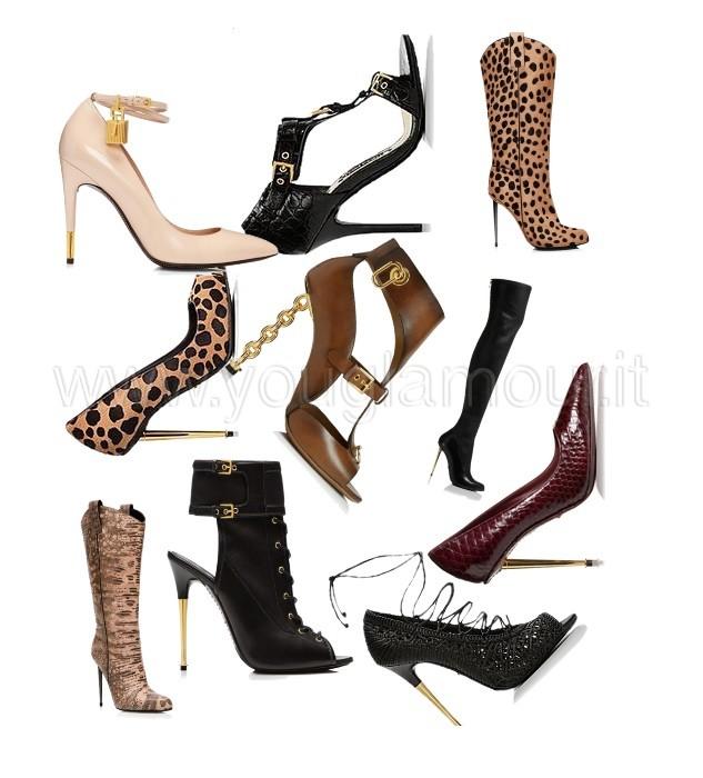 Tom Ford collezione scarpe autunno inverno 2014