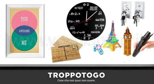 TroppoTogo- idee originali per regali geek