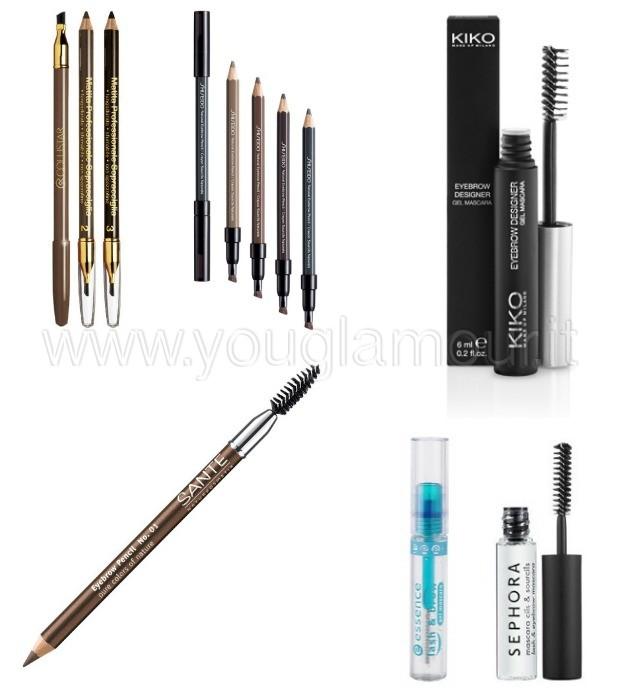 Make-Up: Come Ridefinire le Sopracciglia