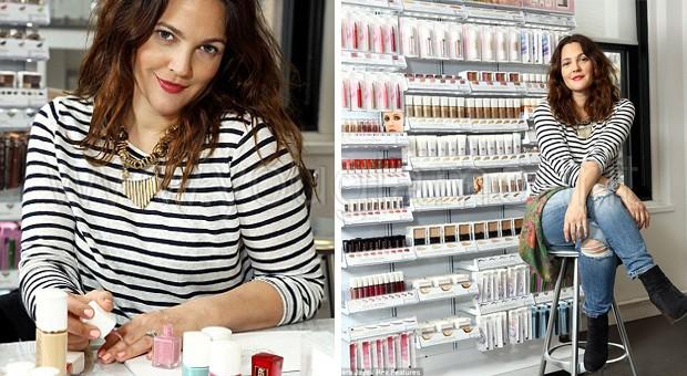 Drew Barrymore e la Flower Make Up Collection