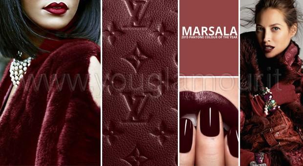 Pantone 2015 Marsala e le sfumature del rosso