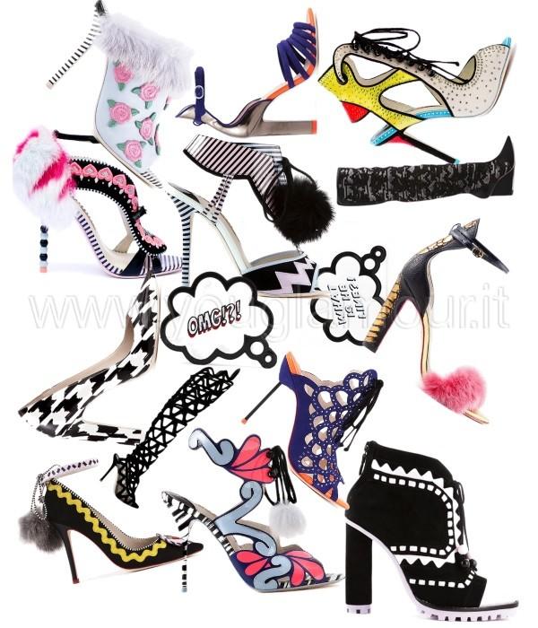 Sophia Webster collezione scarpe Autunno Inverno 2014